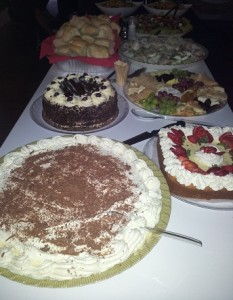 cakes for buffet