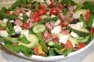 mixed salad for buffet