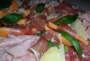 cold meat antipasto