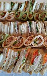 sandwich wrap platter