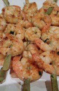 finger food prawns